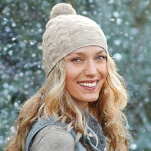 J.Jill - Soft and Cozy Cable Knit Hat